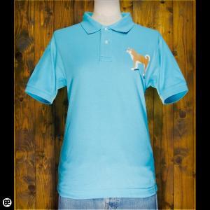 ポロシャツ/メンズ/レディース/5.3oz速乾ポロ : Shiba Side : ミントグリーン|redbros
