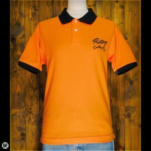 ポロシャツ/メンズ/レディース/5.3oz速乾ポロ : Boring Shirts : オレンジ/ブラック|redbros