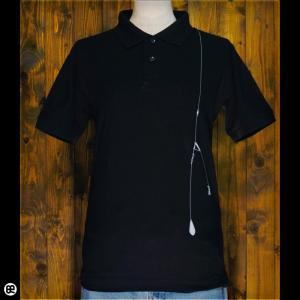 ポロシャツ/メンズ/レディース/5.3oz速乾ポロ : イシダイ : ブラック|redbros