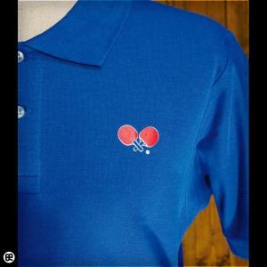 ポロシャツ/メンズ/レディース/5.3oz速乾ポロ : table tennis : ロイヤルブルー|redbros