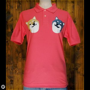 ポロシャツ/メンズ/レディース/5.3oz速乾ポロ : こましば(FP) : フラミンゴピンク|redbros
