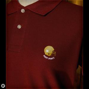 ポロシャツ/メンズ/レディース/5.3oz速乾ポロ : ENJOY SPORTS : バーガンディ|redbros