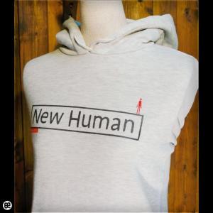 パーカー メンズ レディース プルオーバーPK New Human オートミール|redbros