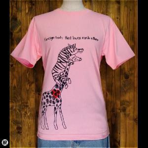 Tシャツ/メンズ/レディース/6.2oz半袖Tee : なかよし : ピンク|redbros