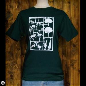 Tシャツ/メンズ/レディース/6.2oz半袖Tee : プラモ : フォレストグリーン|redbros