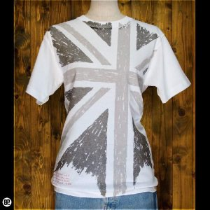 Tシャツ/メンズ/レディース/6.2oz半袖Tシャツ : UK : ホワイト|redbros