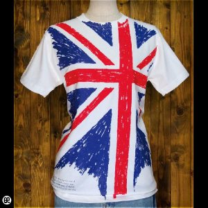 Tシャツ メンズ レディース 6.2oz半袖Tee UK-normal  ホワイト|redbros