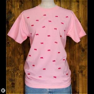 Tシャツ/メンズ/レディース/6.2oz半袖Tee : トンティー : ピンク|redbros
