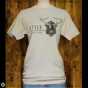Tシャツ メンズ レディース 6.2oz半袖Tee STYLE ストーン|redbros