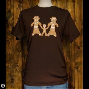 Tシャツ/メンズ/レディース/6.2oz半袖Tシャツ : ジンジャークッキー : ブラウン|redbros