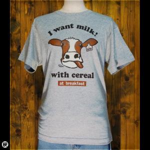 Tシャツ/メンズ/レディース/6.2oz半袖Tシャツ : うし : 杢グレー|redbros