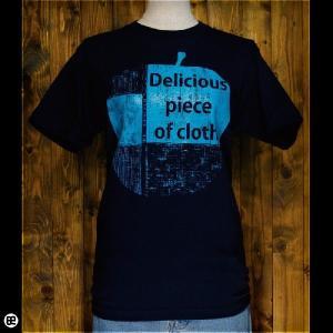 Tシャツ/メンズ/レディース/6.2oz半袖Tシャツ : GreenApple : ネイビー|redbros