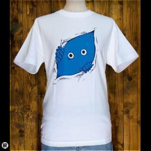Tシャツ/メンズ/レディース/6.2oz半袖Tシャツ : のぞく : ホワイト|redbros