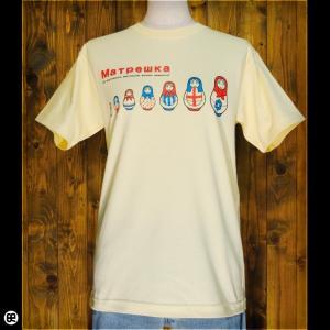 Tシャツ/メンズ/レディース/6.2oz半袖Tシャツ : Matrioska : イエローヘーゼ|redbros