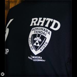 Tシャツ/メンズ/レディース/6.2oz半袖Tシャツ : 六波羅探題 : ネイビー|redbros