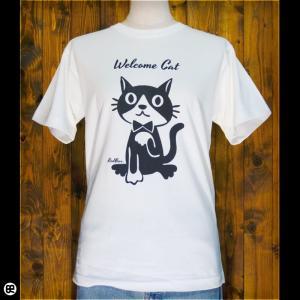 Tシャツ/メンズ/レディース/6.2oz半袖Tシャツ :  まねきねこ : ナチュラル|redbros