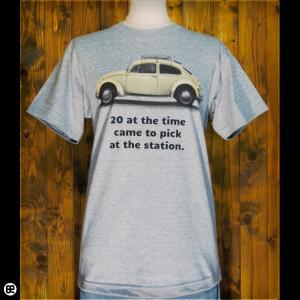 Tシャツ メンズ レディース 6.2oz半袖Tシャツ カブトムシ ヘザーグレー redbros