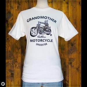 Tシャツ メンズ レディース 6.2oz半袖Tシャツ grandmother ナチュラル|redbros