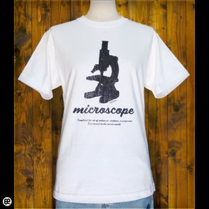 Tシャツ メンズ レディース 6.2oz半袖Tシャツ microscope ホワイト redbros