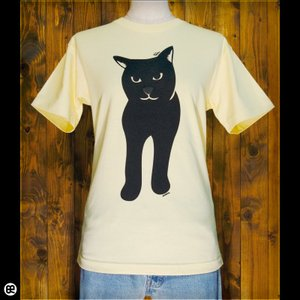 Tシャツ/メンズ/レディース/6.2oz半袖Tシャツ : BlackCat : イエローヘーゼ|redbros