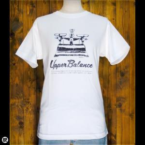Tシャツ/メンズ/レディース/6.2oz半袖Tシャツ : 上皿天秤 : ホワイト|redbros