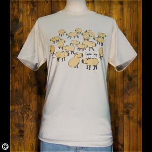 Tシャツ/メンズ/レディース/6.2oz半袖Tシャツ : カピの群 : ストーン|redbros