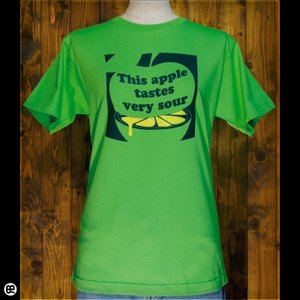 Tシャツ/メンズ/レディース/6.2oz半袖Tシャツ : レモンリンゴ(GR) : グリーン|redbros