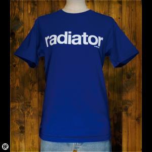 Tシャツ/メンズ/レディース/6.2oz半袖Tシャツ : radiator(RB) : ロイヤルブルー|redbros