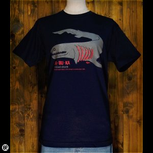 Tシャツ/メンズ/レディース/6.2oz半袖Tシャツ : ラブカ : ネイビー|redbros