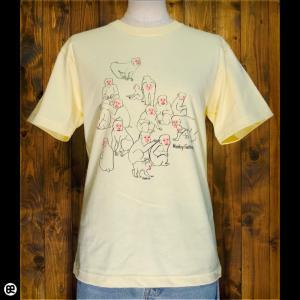 Tシャツ/メンズ/レディース/6.2oz半袖Tシャツ : 猿山 : イエローヘーゼ|redbros