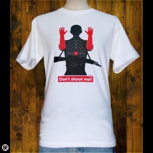 Tシャツ/メンズ/レディース/6.2oz半袖Tシャツ : shooting : ホワイト|redbros