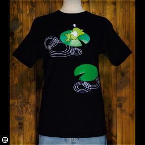 Tシャツ/メンズ/レディース/6.2oz半袖Tシャツ : ハスカエル : ディープブラック|redbros