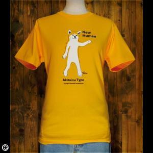 Tシャツ/メンズ/レディース/6.2oz半袖Tシャツ : Akitainu : ゴールドイエロー redbros