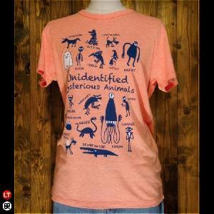 Tシャツ/メンズ/レディース/4.3oz半袖Tee : UMA : ヘザーオレンジ|redbros