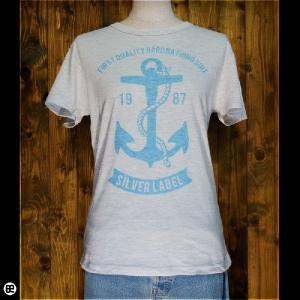 Tシャツ/メンズ/レディース/4.3oz半袖Tee : SILVER LABEL : オートミール|redbros