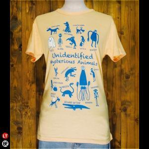Tシャツ/メンズ/レディース/4.3oz半袖Tee : UMA(YL) : イエロー|redbros