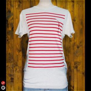 Tシャツ/メンズ/レディース/4.3oz半袖Tee : tape(OM) : オートミール|redbros