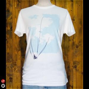 Tシャツ/メンズ/レディース/4.3oz半袖Tee : Happy-go-lucky : オフホワイト|redbros