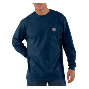 carhartt カーハート Workwear Pocket Long Sleeve Tshirt redheart