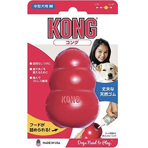 Kong(コング) 犬用おもちゃ コング M サイズ|redheart