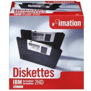 イメーション 3.5インチFD DOS/Vフォーマット25枚入 紙箱×1 US仕様品 MF2HD-WIN-25KS redheart