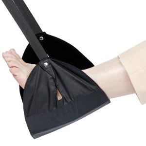 ストラップの長さは、お好みに合わせて調整してください。足を置く部分は肌触りを考慮し、柔らかい素材を使...