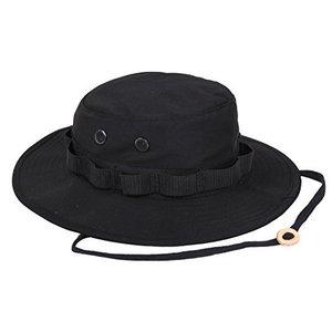 Rothco Rip Stop Boonie Hat Size 7.75 ブラック redheart