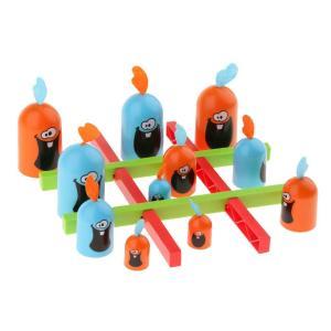 【Gobblet Gobblers】『ゴブレットゴブラーズ』は、3×3のマス盤面に自色駒の縦/横/斜...