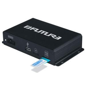 FUTURE 地デジチューナー フルセグチューナー 車載用 地デジタル フルセグ TV チューナー AV HDMI出力対応 高性能4×4 12V~24