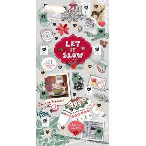 Let it slow - Ein hyggeliger Adventskalender fuer entspannte Momente in der|redheart