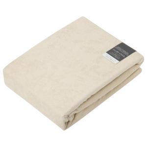 西川(Nishikawa) ボックスシーツ ベージュ セミダブル タオル調 厚さ35cmまでに対応 日本製 綿100% ボーテ PTG6553017B|redheart