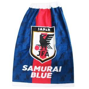 サッカー 日本代表[ラップタオル]80cm丈 巻きタオル/2019SS