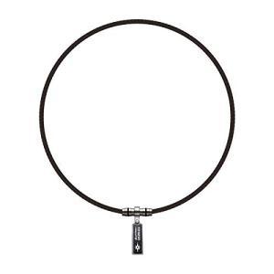 phiten ファイテン ネックレス RAKUWAネックX100 ペンダントトップ ブラック 42cmの商品画像|ナビ