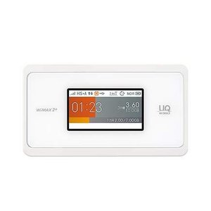 UQ WiMAX モバイルルーター Speed Wi-Fi NEXT WX06 Wi-Fi 2.4GHz/5GHz同時利用 (ホワイト) redheart